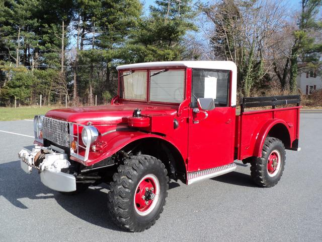 FOR SALE-- 1954 Dodge Powerwagon - Gamber & Community Fire Company