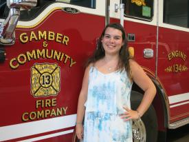 Anna N. Teitt of Finksburg, Maryland has been named the winner of the 2015 Oscar Brothers Memorial Scholarship Fund Award.