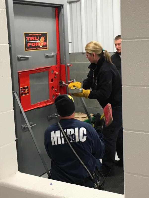 Forcible Entry Training Gamber Community Fire Company