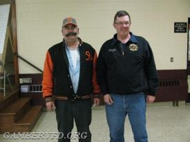 Mike Sullivan and Chuck Doyle - 35 Year Service Pins
