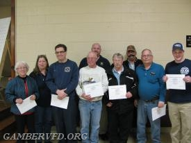 Most Fund Raising Hours - Nancy Zepp, Chrissy Green, G. J. Bell, Stan Mertz, Charlie Green, Lee Kestler, Mike Sullivan, Randy Panos, and Dylan Baker