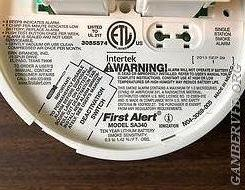 The Manufacture date should be located just above the WARNING to the right. If there is no date then you need to replace that alarm.