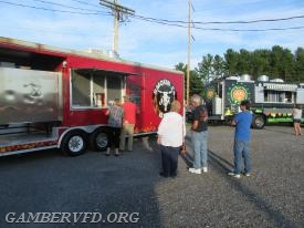 The 2017 food truck event at the Gamber Fire Co. carnival grounds.