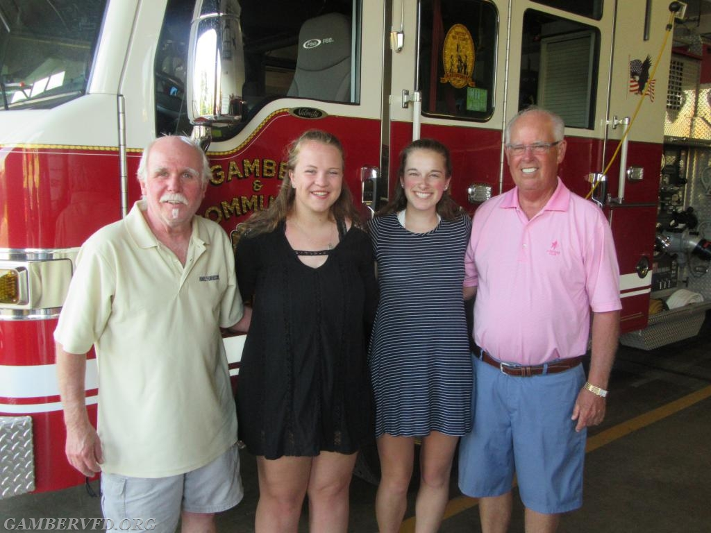 (l to R) Terry Brothers, Caitlin Hall, Sarah Kleb, and Gary Brothers