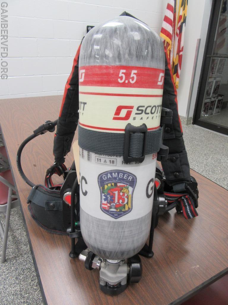 Scott Air-Pak X3 Pro 5.5
