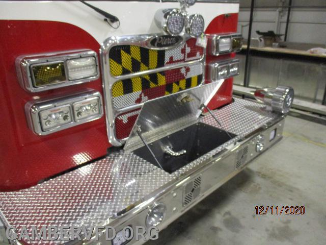 Again new grille, Roto-ray and new front auto line for 100ft of hose.