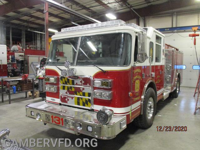 Engine 131 almost complete.