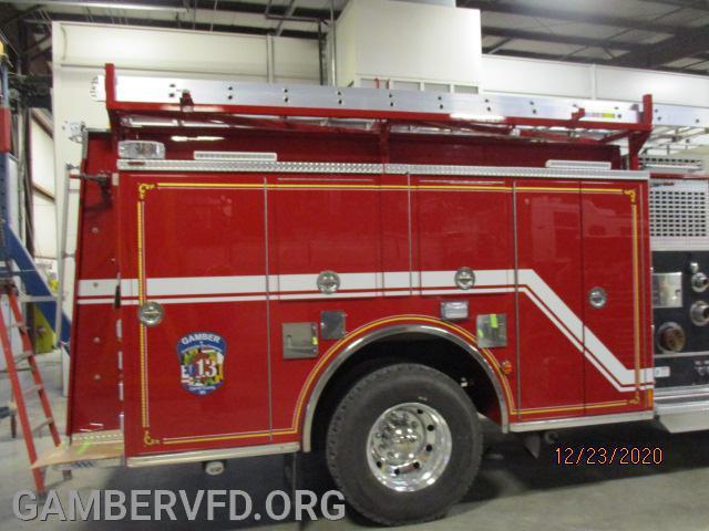 New 28ft ladder in ladder rack now.