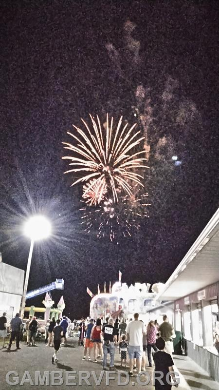 The Labor Day fireworks!